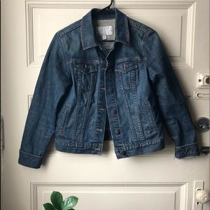 Like new! Only worn once. Jean jacket.